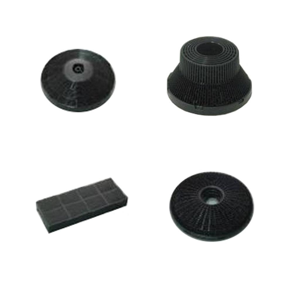 Filtro de carb/ón activado para campana extractora-10 piezas Filtro de carb/ón activado 13 cm x 13 cm utilizado para soldar el extractor de humos absorbente de humo