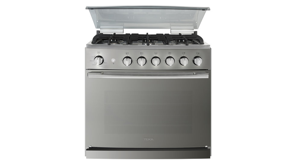 View 1 of free standing cooker EMGG 8660 S RX Stainless Steel - Reflex by Teka