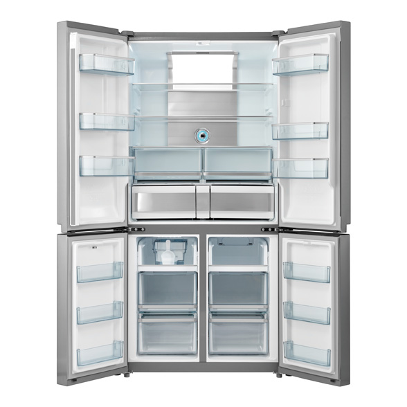 View 1 of refrigerator FKG9650.0E-02 Stainless Steel by Kúppersbusch