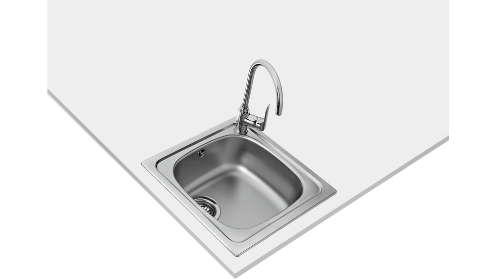 View 1 of sink STARBRIGHT 45 E-XN 1B Stainless Steel by Teka