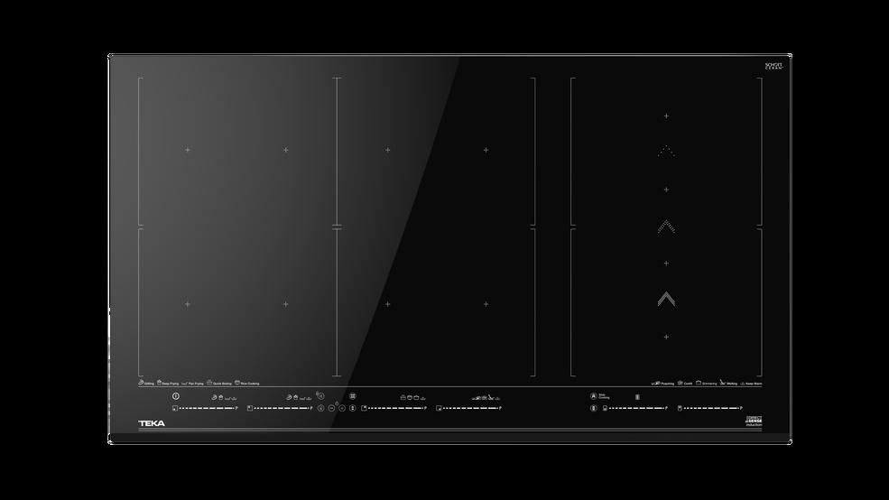 Imagen 1 de placa IZF 99700 MST Black Glass de Teka