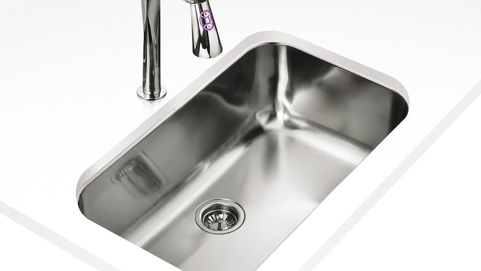 View 1 of sink BE 74.43-20 Stainless Steel by Teka