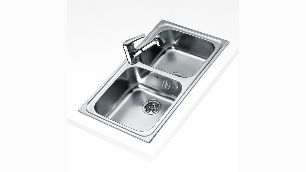View 1 of sink CLASSIC 2B 86 Stainless Steel by Teka