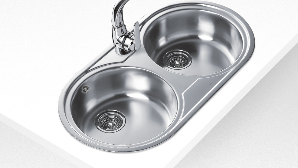 View 1 of sink DUETTA 2B Stainless Steel by Teka