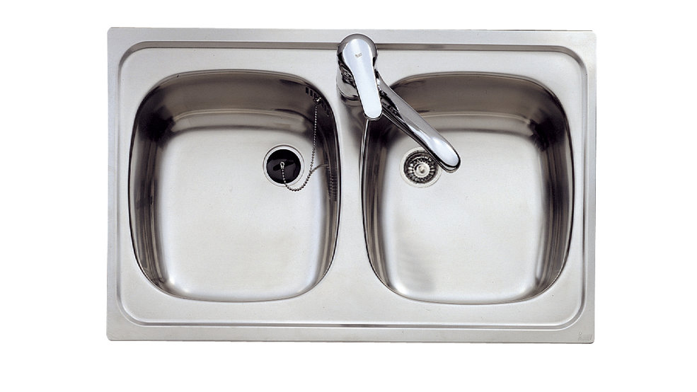 View 1 of sink E/800.440 2B by Teka