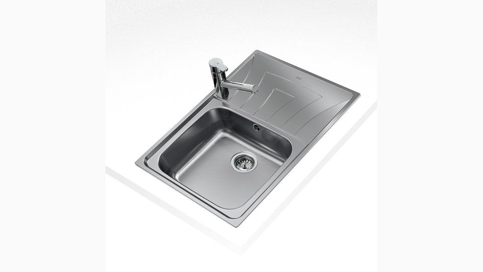View 1 of sink UNIVERSO MAX 79 1B 1D by Teka
