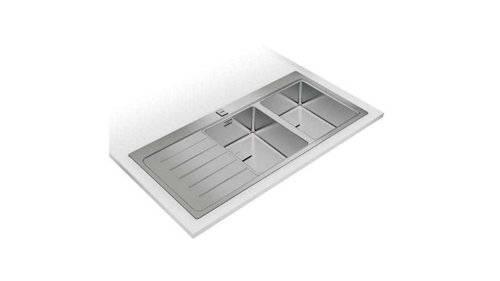 View 1 of sink Zenit R15 2B 1D Stainless Steel by Teka