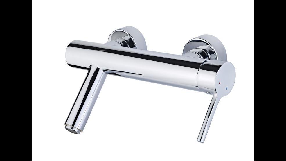 View 1 of bath tap ALAIOR XL BATH/SHOWER MIXER Chrome by Teka