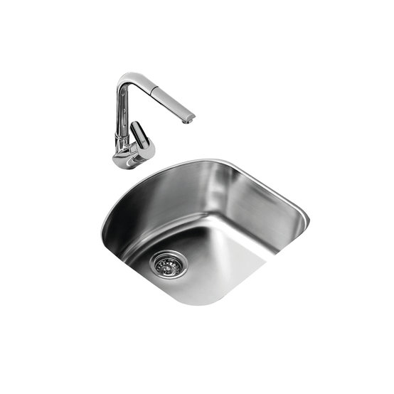 View 1 of sink TU 23.20 D Stainless Steel by Teka