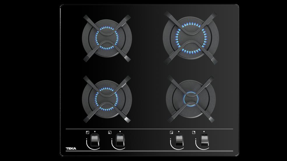Imagen 1 de placa GBC 64000 Black Glass de Teka