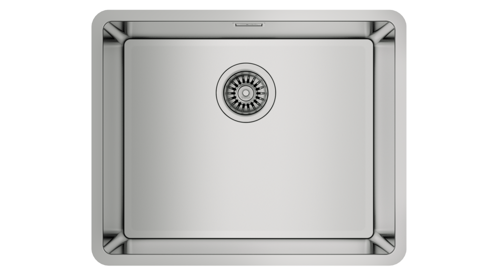 View 1 of sink Be Linea RS15 50.40 Stainless Steel by Teka