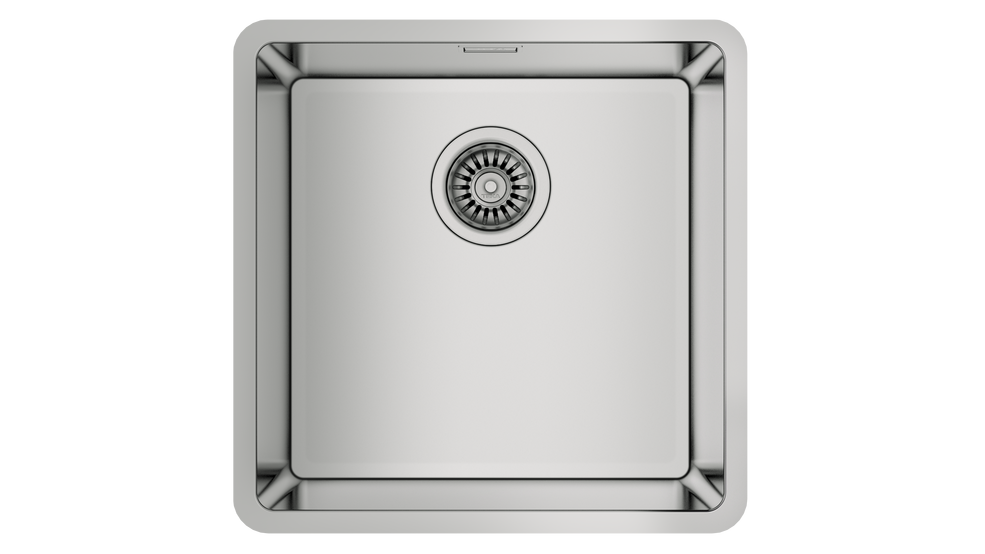 View 1 of sink Be Linea RS15 40.40 Stainless Steel by Teka
