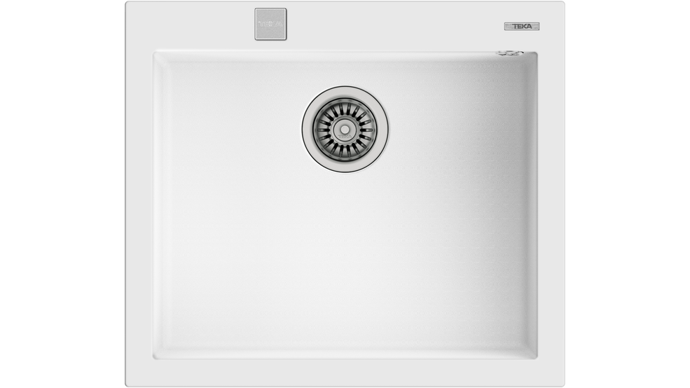 View 1 of sink ForSquare 50.40 TG Auto Artic White by Teka