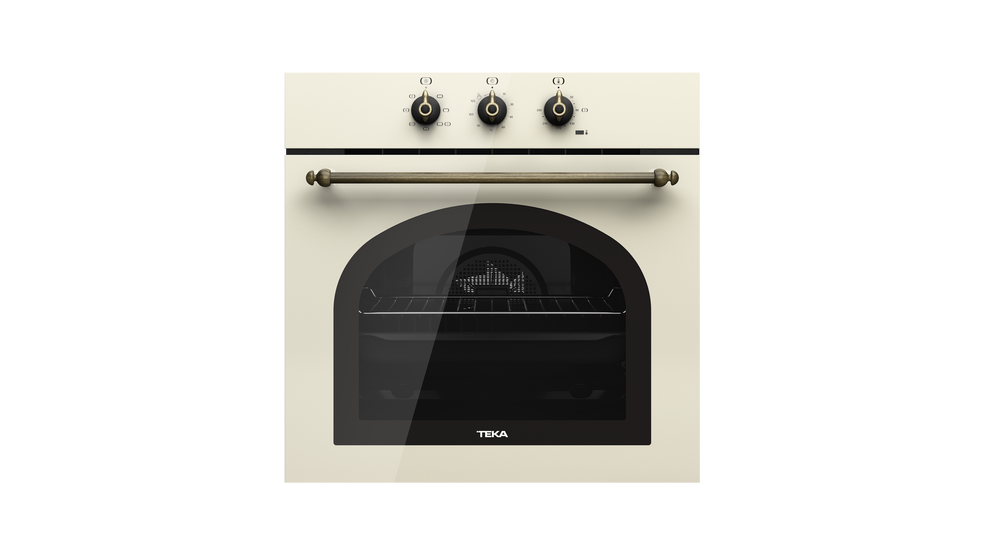 View 1 of oven HRB 6100 Vanilla Brass by Teka