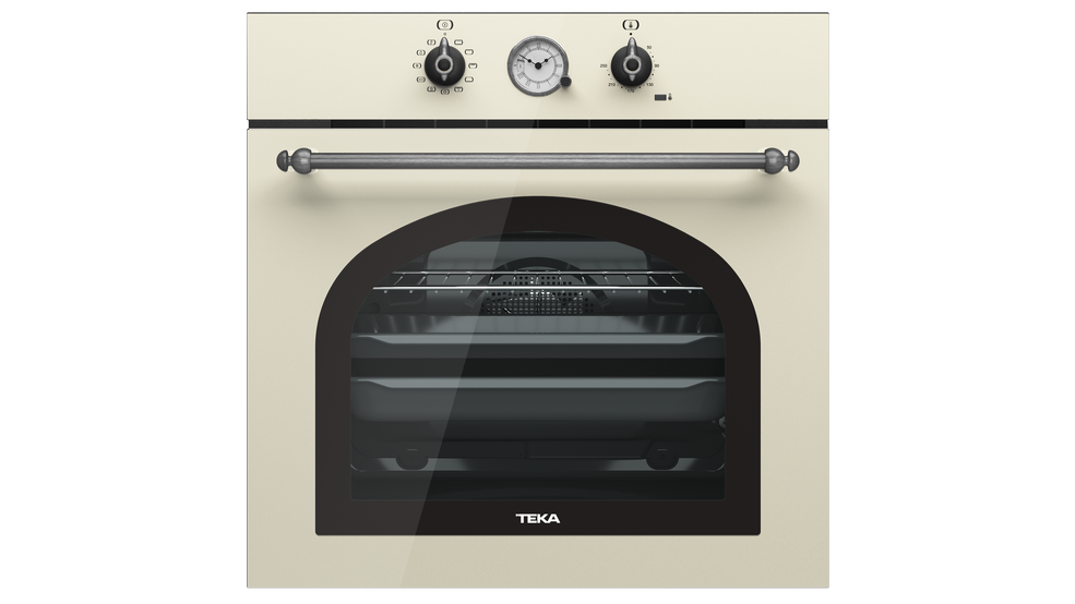 View 1 of oven HRB 6300 Vanilla Silver by Teka