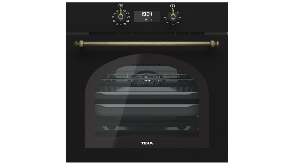 View 1 of oven HRB 6400 Anthracite Brass by Teka