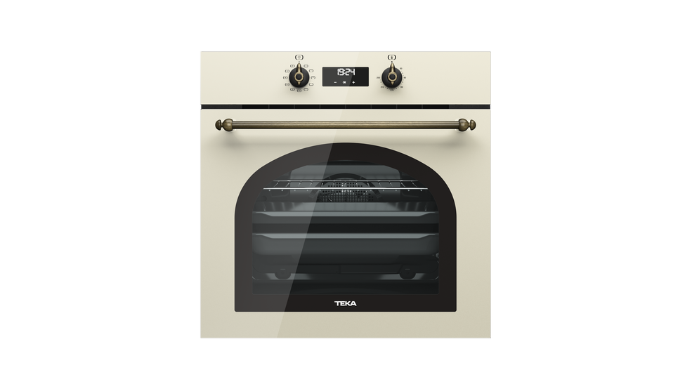 View 1 of oven HRB 6400 Vanilla Brass by Teka