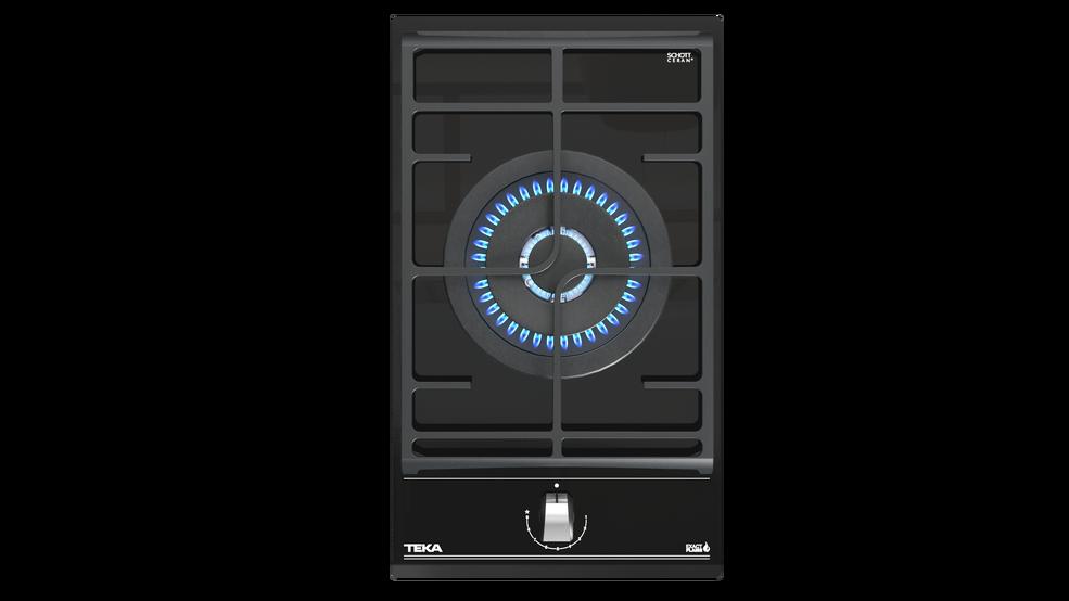 Imagen 1 de placa GZC 31330 Black Glass de Teka