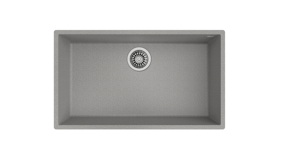 View 1 of sink SQUARE 72.40 TG Stone Grey by Teka
