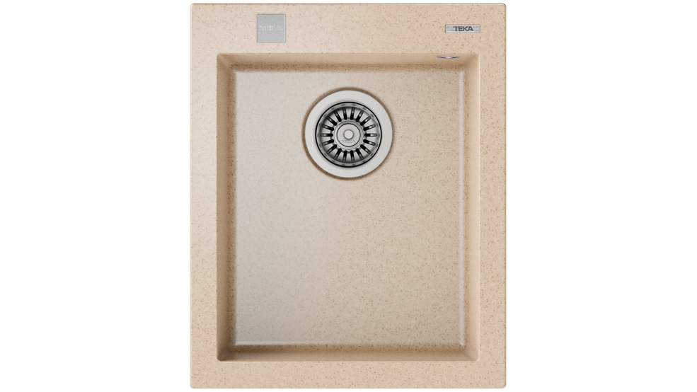 View 1 of sink ForSquare 34.40 TG Auto Avena Beige by Teka
