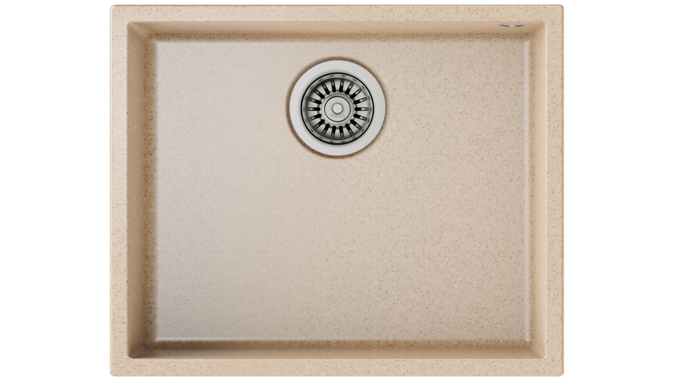 View 1 of sink SQUARE 50.40 TG Avena Beige by Teka