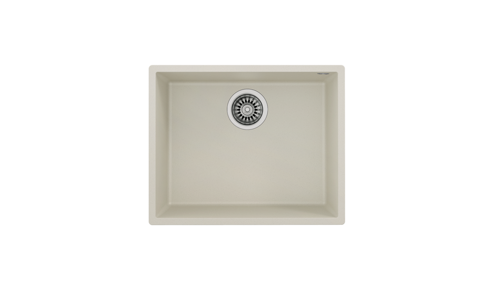 View 1 of sink Square 50.40 TG Bright Cream by Teka