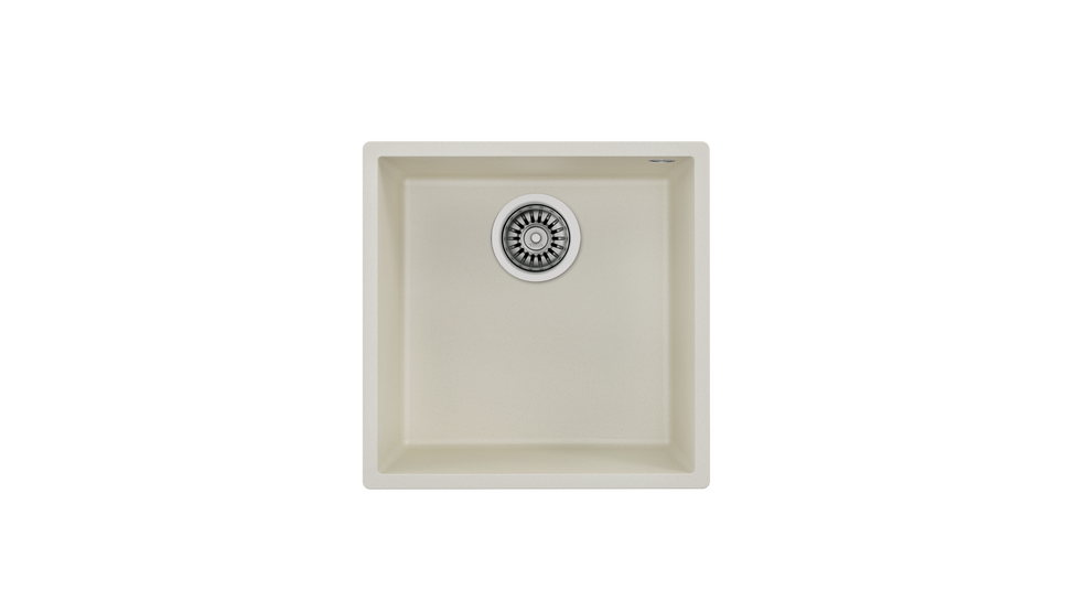 View 1 of sink Square 40.40 TG Bright Cream by Teka
