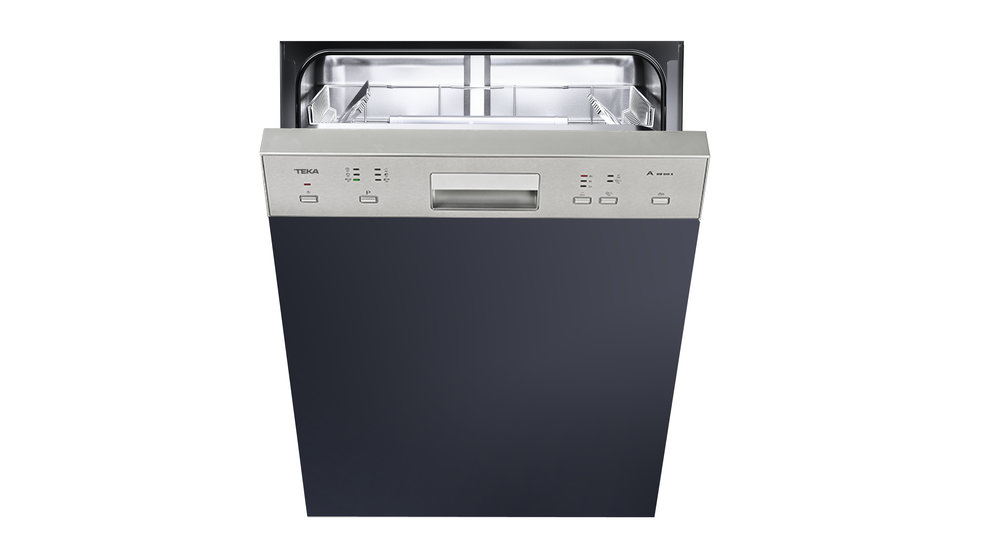 Partially integrated dishwasher with 6 washing programs in 60 cm