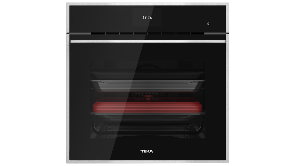 View 1 of oven iOVEN P Black Glass with StainlessSteel frame by Teka