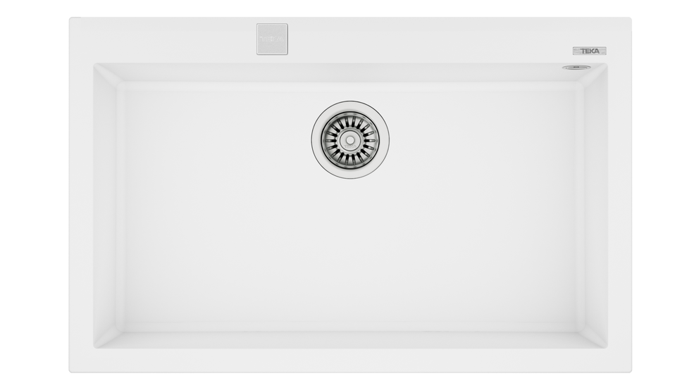 View 1 of sink ForSquare 72.40 TG Auto Artic White by Teka