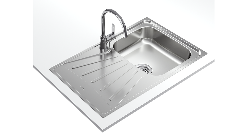 View 1 of sink StarBright 45 E-XN 1B 1D Stainless Steel by Teka