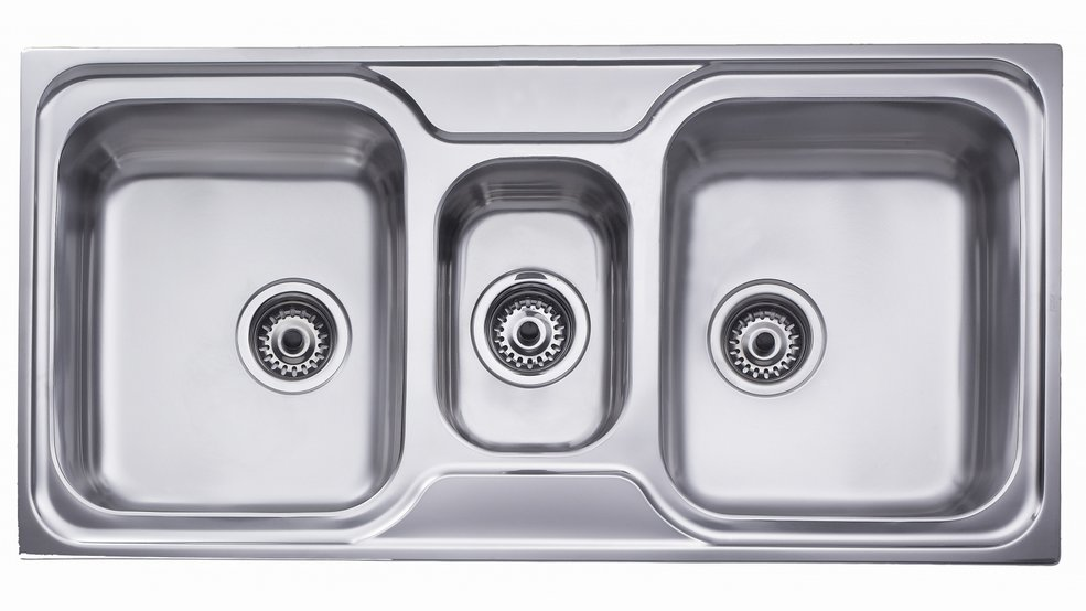 View 1 of sink CLASSIC 2½B Stainless Steel by Teka