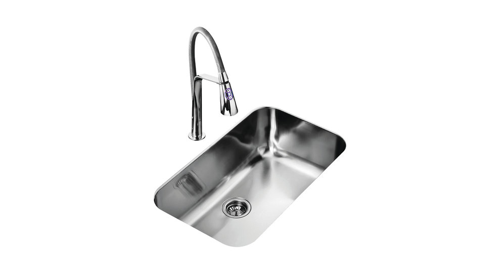 View 1 of sink TU 31.19-10 Stainless Steel by Teka