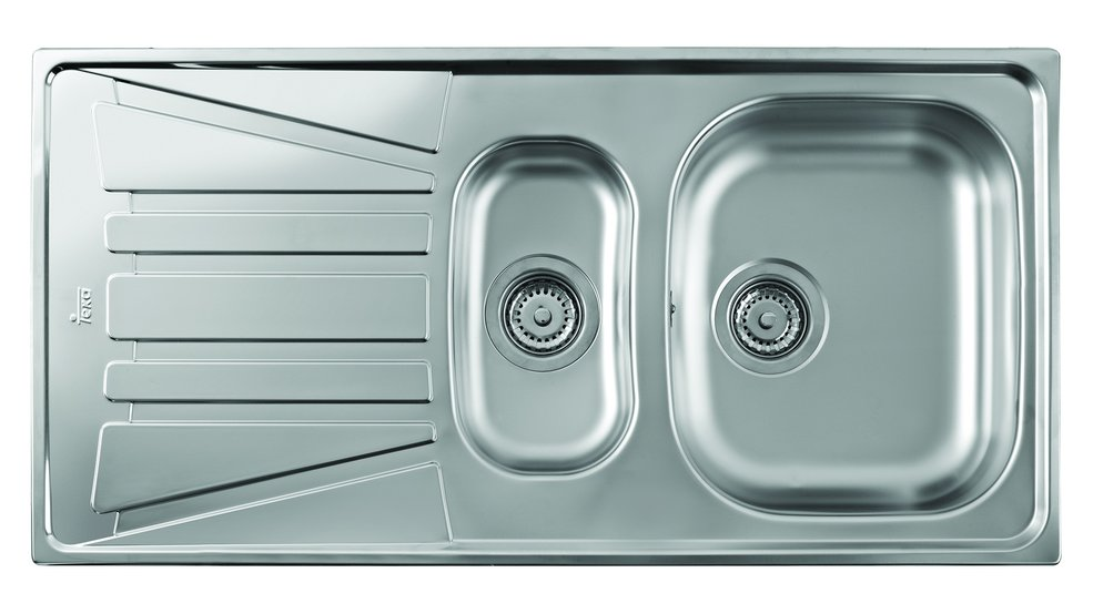 View 1 of sink Basico 1½B 1D Stainless Steel by Teka