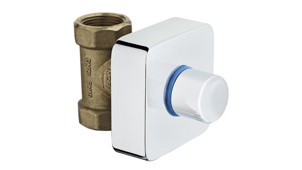 Imagen 1 de accesorio de baño STOP COCK 3/4 BLUE Blue de Teka