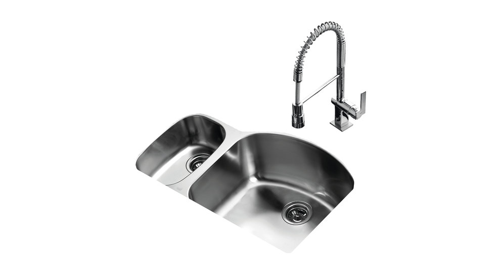 View 1 of sink TU 31.20 D-L Stainless Steel by Teka