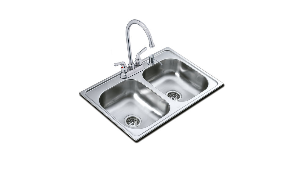 View 1 of sink 840.483 2B (33.19) 8