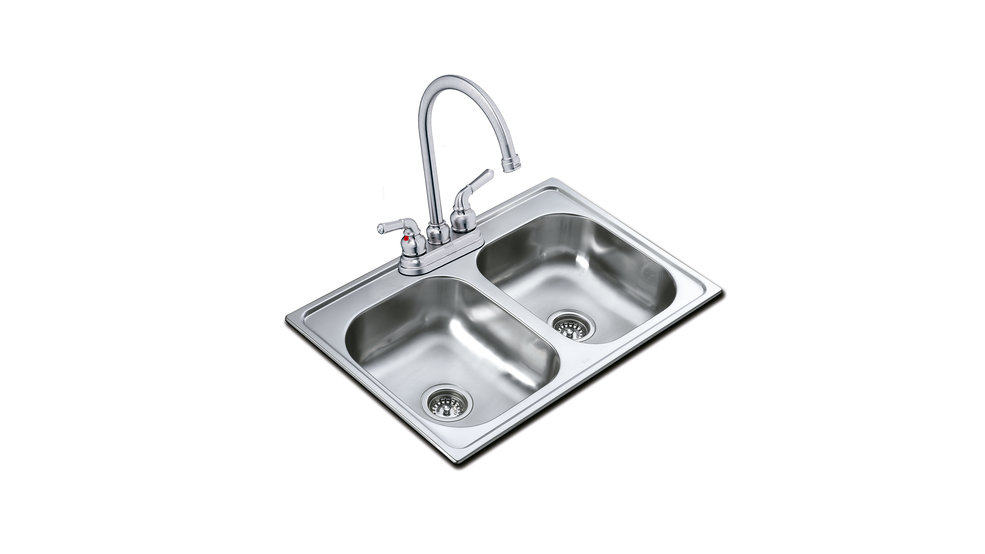View 1 of sink 840.483 (33.19) 2B 8