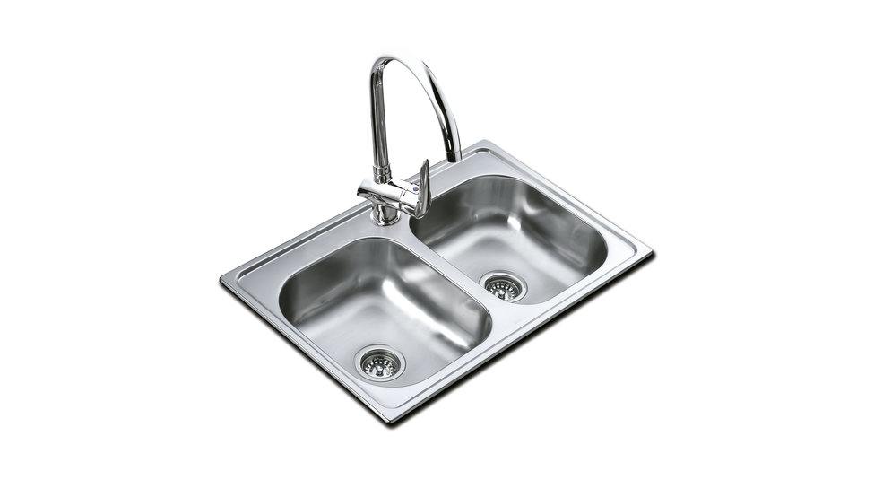View 1 of sink 840.483 2B (33.19) 7