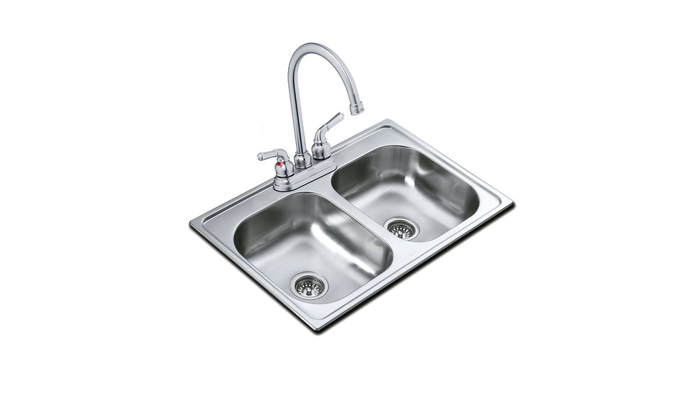 View 1 of sink 840.483 2B (33.19) 6