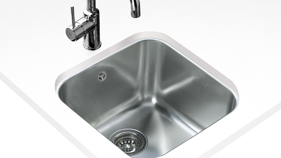 View 1 of sink BE 40.40 Stainless Steel by Teka