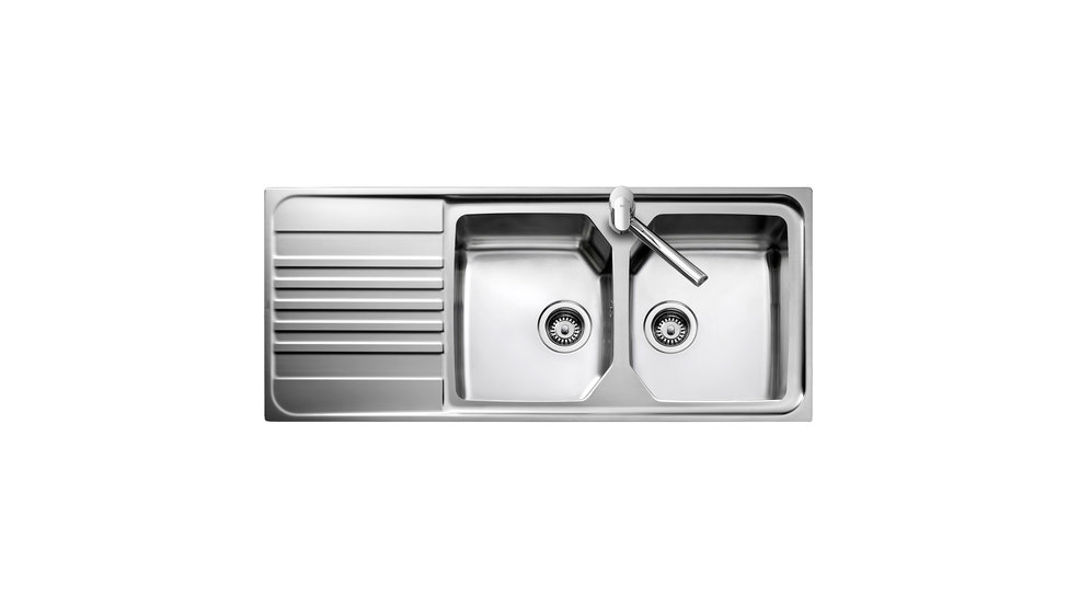View 1 of sink Premium 2B 1D Stainless Steel by Teka