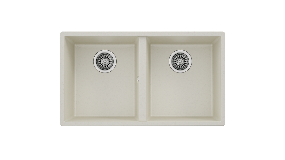 View 1 of sink Square 2B 760 TG Bright Cream by Teka