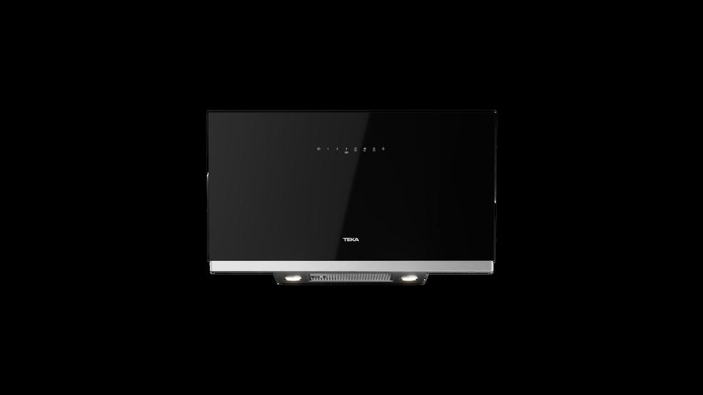 View 1 of hood DVF 67670 TBS Black Glass by Teka
