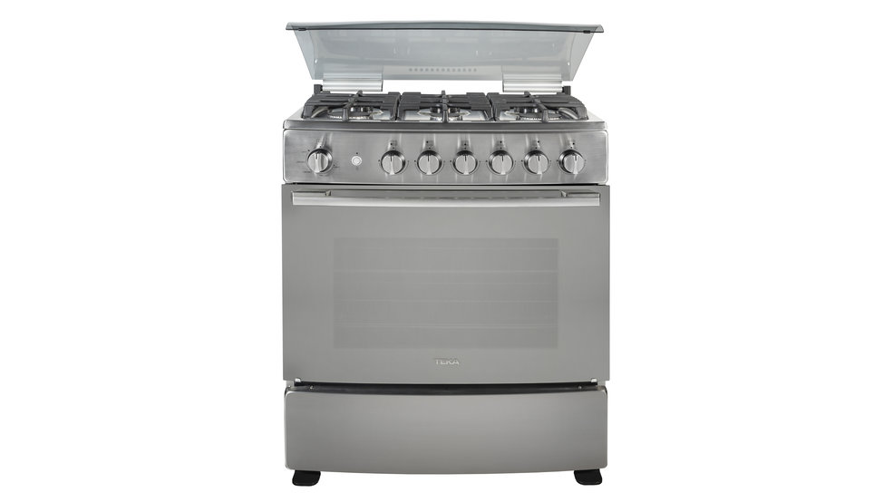 View 1 of free standing cooker FS GG 8660 S Stainless Steel - Reflex by Teka