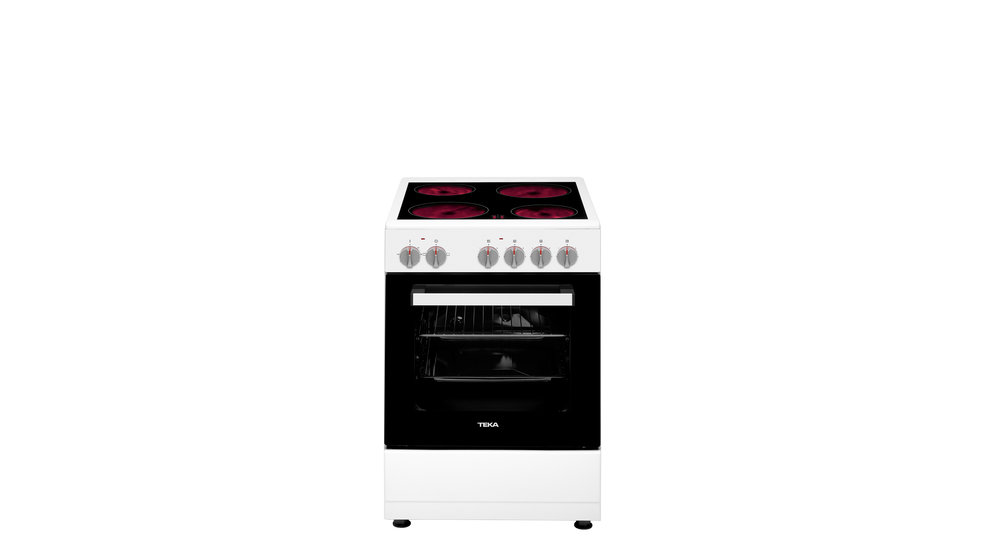 View 1 of free standing cooker FS 502 4VE White by Teka