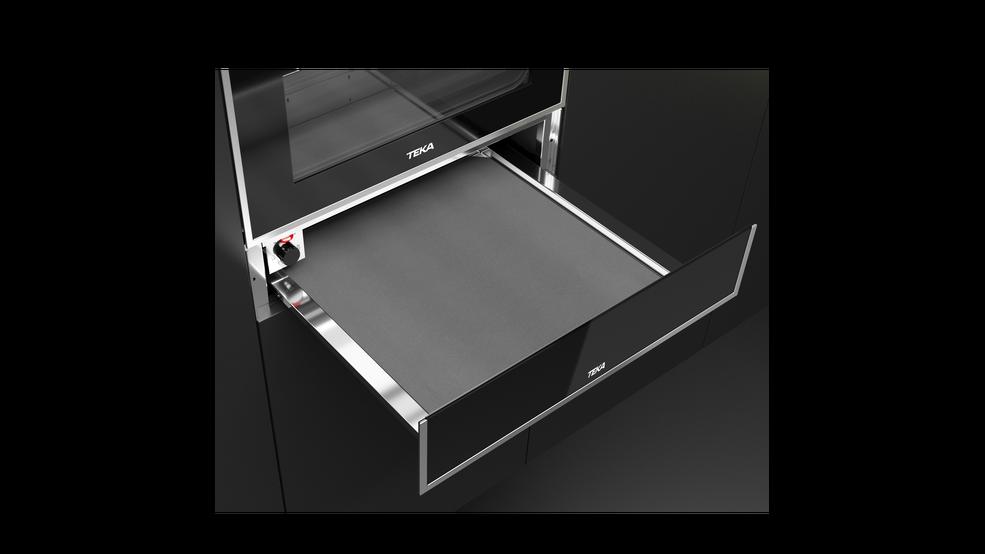 Imagen 1 de calientaplatos CP 15 GS Black Glass de Teka
