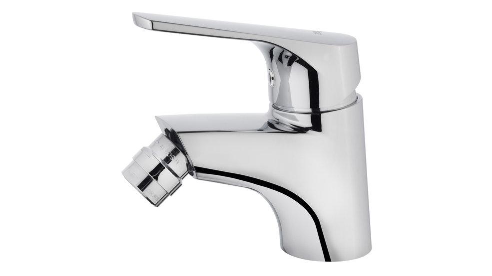 Imagen 1 de grifo de baño MT PLUS BIDET MIXER DITTO,WITHOUT POP UP WASTE Chrome de Teka