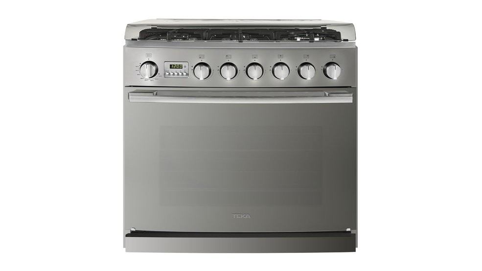 View 1 of free standing cooker EMGG 8665 S RX Stainless Steel - Reflex by Teka
