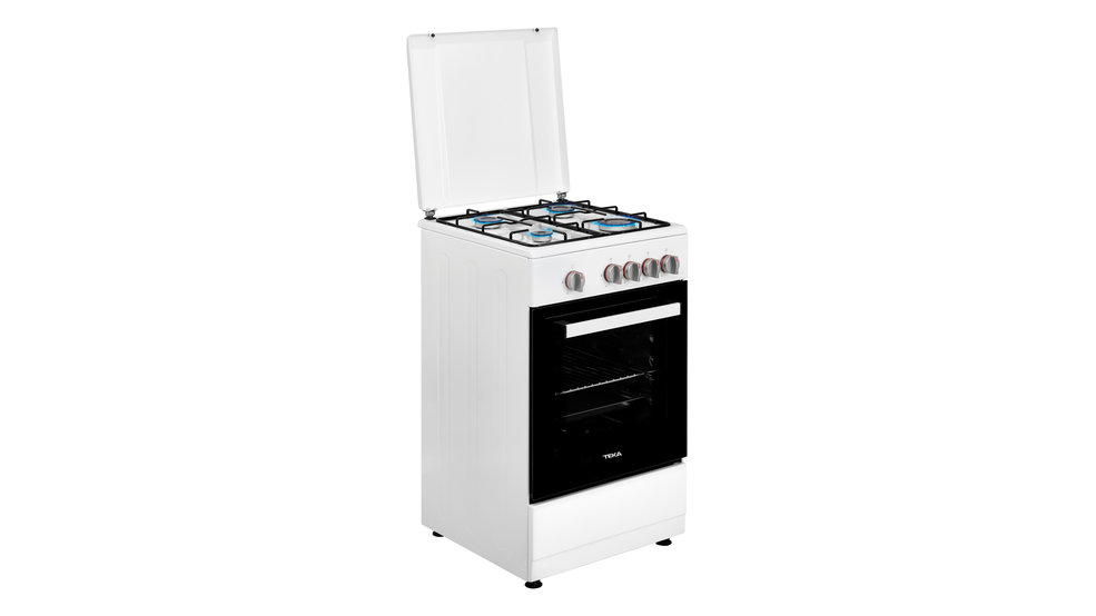 View 1 of free standing cooker FS 502 4GG White by Teka